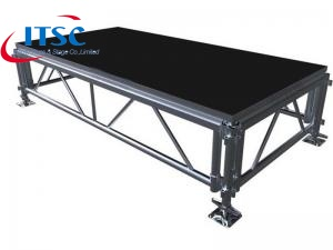 Portable stage decks